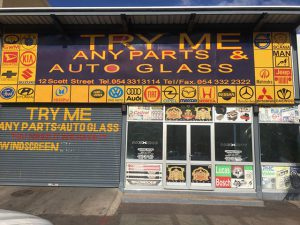 Shopfront | Try Me Any Parts & Auto Glass | You Need It, We Have It
